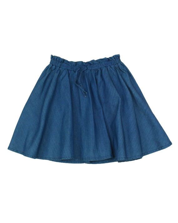 jupe chambray fille