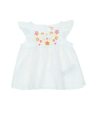 top broderies fille
