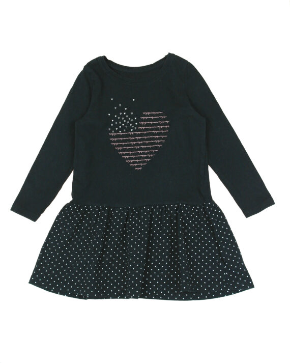 robe manches longues fille